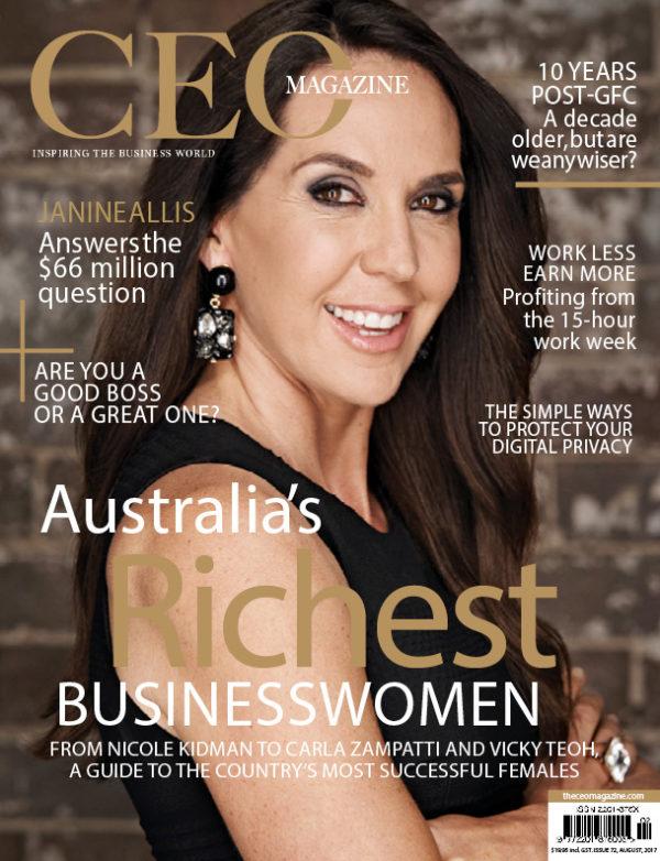 The CEO Magazine ANZ Aug 2017