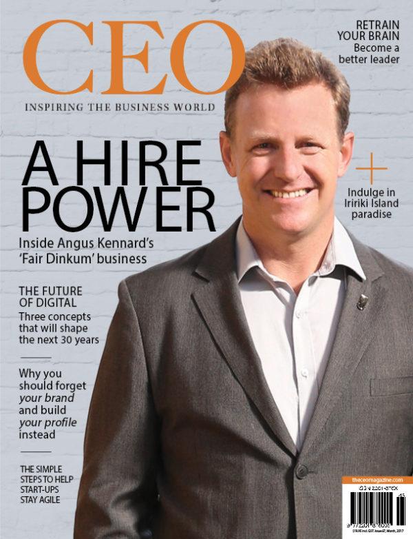 The CEO Magazine March 2017 ANZ