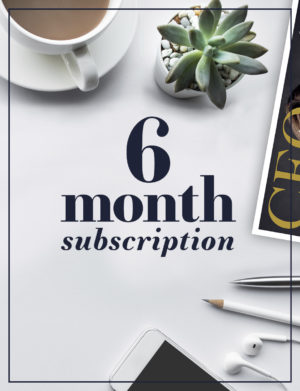 The CEO Magazine ANZ 6 month subscription